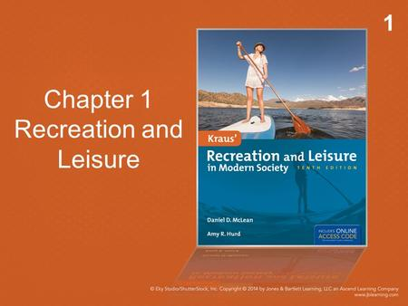 1 Chapter 1 Recreation and Leisure. 2 Introduction Defining leisure and recreation Importance of individual perceptions A major economic force in: Travel.