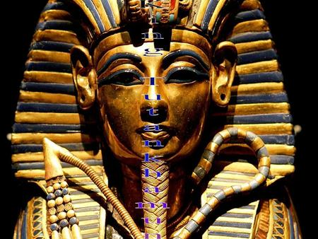 "A.K.A. King Tut and ""The Boy King"". He was a pharaoh and the 12th king of the 18th dynasty in Egypt during a period of time called the New Kingdom."