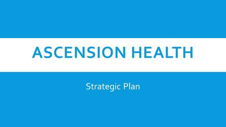 Compass Group The Ascension Health Decision Case Study Solution & Analysis