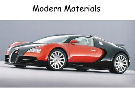 Modern Materials. Composites A composite is a combination of 2 or more materials to form a new material. They combine the strengths of the different materials.