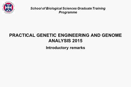 an analysis of genetic engineering Principles of genetic engineering & biotechnology bacteria acquires genetic traits of plasmid gene is ready for analysis.