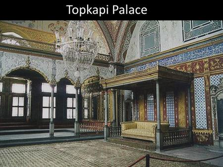 Topkapi Palace. Shah Abbas and his court Ali Qapu, Safavid palace in Esfahan.
