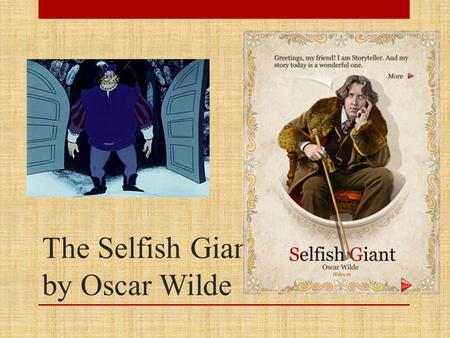 The Selfish Giant by Oscar Wilde. True or false? 1. The Giant had been to visit his friend the Cornish elf. 2. When he arrived he saw the children playing.