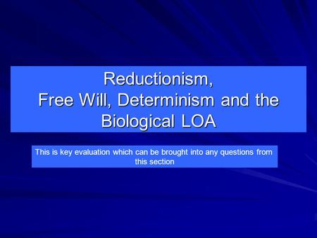 an argument on the controversy between free will and determinism The controversy between free will and determinism has been a long standing argument we must first know a little about what we are arguing as stated in the dictionary, free will is the power of making free choices that are unconstrained by external circumstances or by an agency such as fate or divine will.