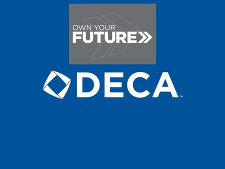 What is DECA? Tammie Brewer Mississippi DECA Coordinator MDE – Office of Student Organizations.