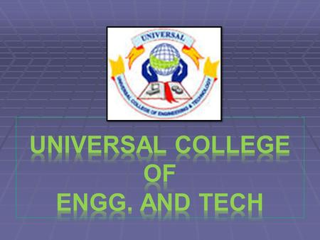 AUDIO VIDEO SYSTEM E.C Engg. 5 th Sem. Anurag Pandey (110460111041) Guided by :- Prof. Parth Patel (E.C Department)