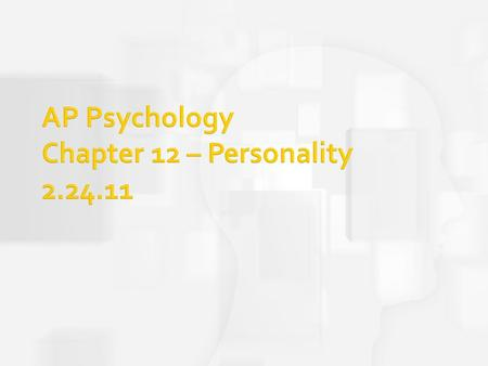the five basic perspectives that comprise psychological theory are Chapter 20: overview and perspectives on the future in this final chapter we provide a brief summary of the subject guide content and consider the future development of social psychology and its applications 115 how to use the subject guide • read through the text of the chapter • then read those parts of the essential.