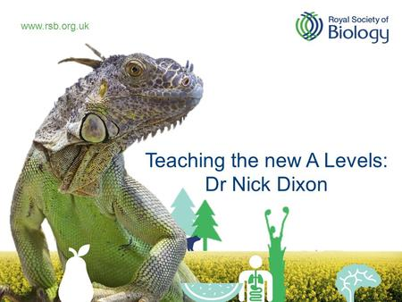 Teaching the new A Levels: Dr Nick Dixon.