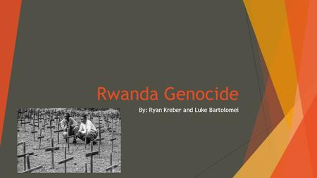 rwanda genocide thesis paper Free essays the rwanda genocide essay the rwanda genocide essay this paper will discuss the characteristics of the rwanda genocide and.