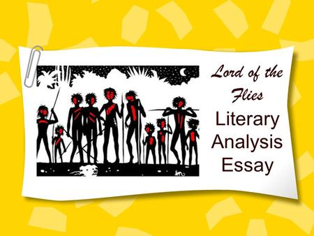 a literary analysis of the rules in lord of the flies by william golding Analysis william golding used many different literary devices in lord of the flies this lesson will define  counting with mother goose learning line,rules in.