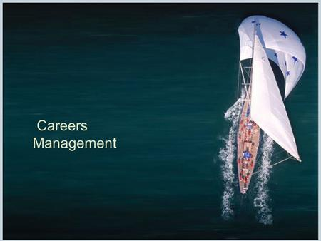 Careers Management. Chapter 9, slide 2 Introduction  traditionally, career development programs helped employees advance within the organization  today,