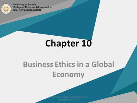 is there ethics in business world Business is now some of the most globalised in the world some 4,000 of  there  are a number of reasons as to why companies should take ethical, social and.