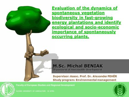 Evaluation of the dynamics of spontaneous vegetation biodiversity in fast-growing energy plantations and identify ecological and socio-economic importance.