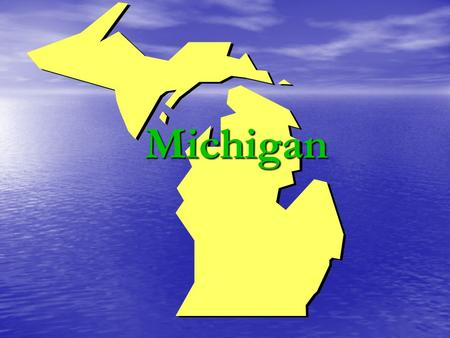 "Michigan. MICHIGAN Quit ""My Michigan"" The Robin Red Breast The robin red breast was designated Michigan's state bird on April 8, 1931 The robin red breast."