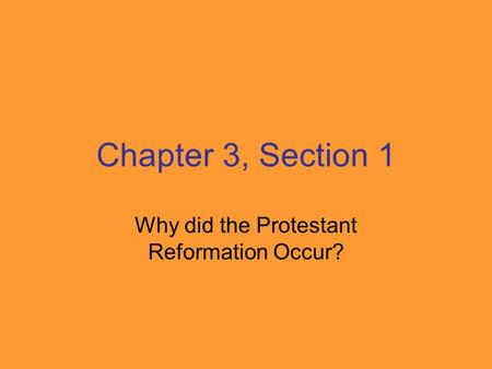 the protestant reformation why it happened essay Question: what was the protestant reformation answer: the protestant reformation was a widespread theological revolt in europe against the abuses and totalitarian control of the roman catholic church reformers such as martin luther in germany, ulrich zwingli in switzerland, and john calvin in france protested various unbiblical practices of the catholic church and promoted a return to.