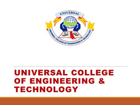 UNIVERSAL COLLEGE OF ENGINEERING & TECHNOLOGY. 2 10/2/2016 Prepared By: Anvi Virani E.No.-130460111018 Guided By: Prof. Parth Patel EC Department Audio.