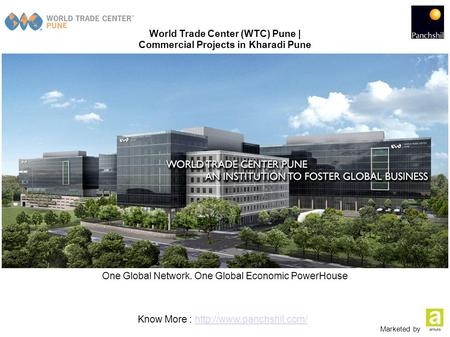 World Trade Center (WTC) Pune | Commercial Projects in Kharadi Pune One Global Network. One Global Economic PowerHouse Know More :