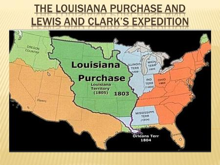  Explain the importance of controlling the port of New Orleans and the crisis over it.  Describe how the United States gained the Louisiana Territory.
