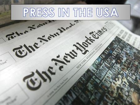  Interesting facts  The most popular American newspapers › The Washington Post › The New York Times.