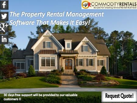 The property rental management software helps all the real estate managers maintain the records of their various properties.  The property owners with.