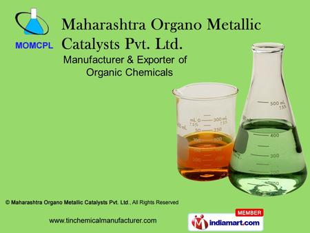 Manufacturer & Exporter of Organic Chemicals. Maharashtra, India About Us Established in 1993, at Mumbai International quality standards Stringent quality.