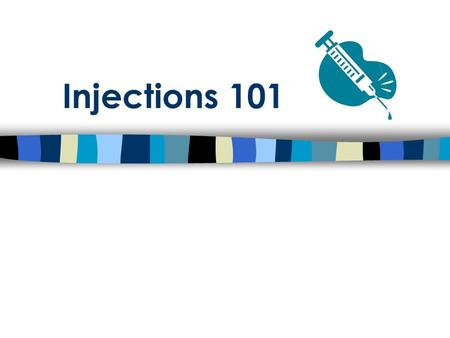 Injections 101. Objectives Describe proper techniques for administering injectable drugs Describe precautions to take when administering injectable products.