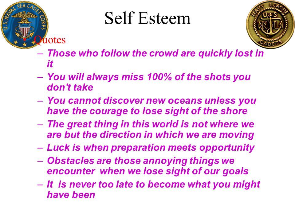Self Esteem 6 P's of Life –Prior –Proper –Planning –Prevents –Poor –Performance