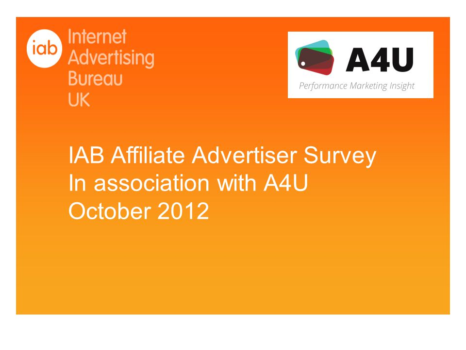 Objective:To size the growth of advertising spend on affiliate marketing channel, map trends, and identify sector hotspots and opportunities Sample: Based on 115 advertiser & merchant companies.