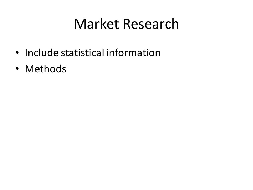 Marketing Strategy Marketing mix Market positioning – quality, price, customer service, brand, image, etc Pricing policy – cost-based, demand based, discounts, warranties Field/product support Advertising and promotion methods – costs, frequencies, web based, etc Distribution channels