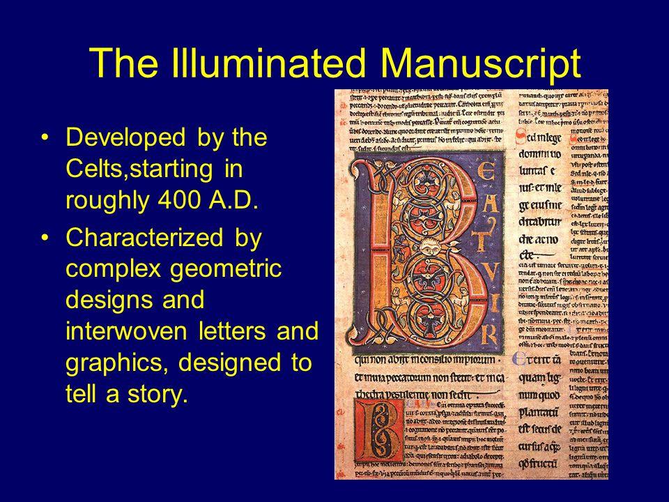 Illuminated Manuscript Samples The Book of Kells , A.D. 794
