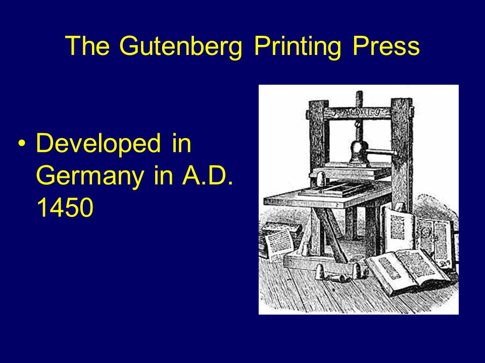 Early Printed Works Were….