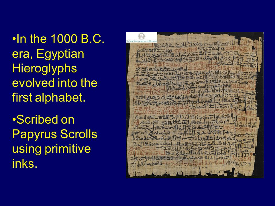 Papyrus Papyrus: An early form of paper, usually used in rolls, made from the pulp of the papyrus plant.