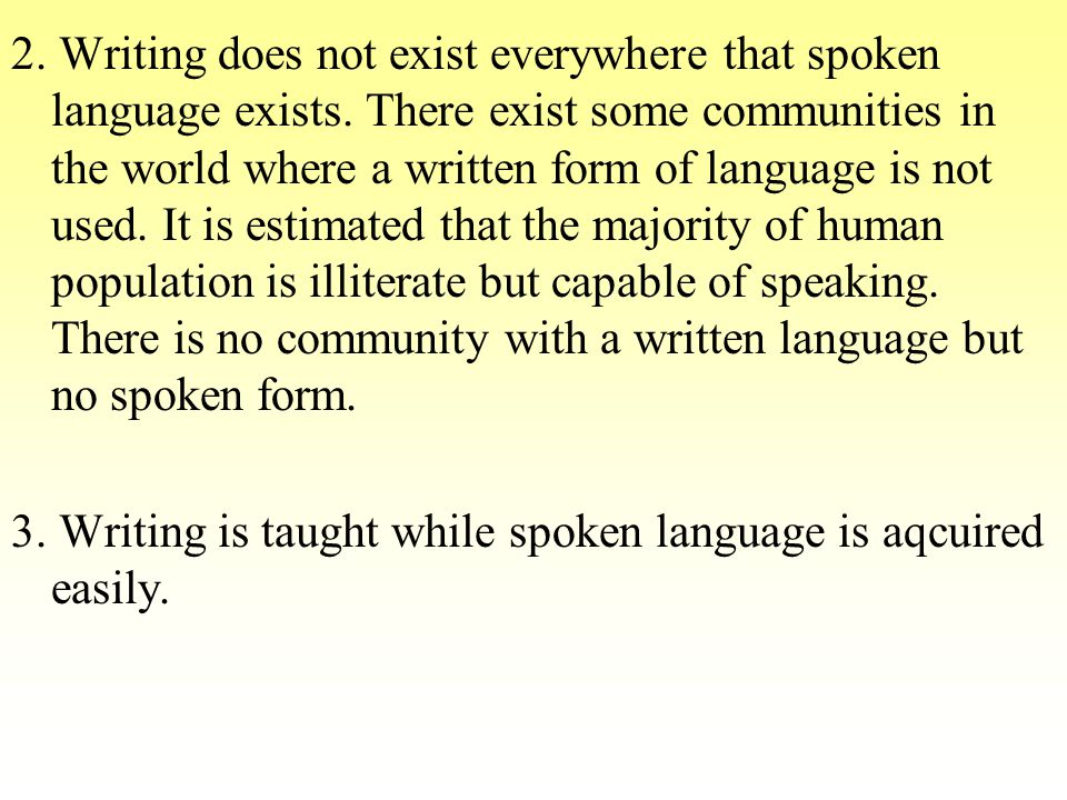 MISCONCEPTION 2: Cultures with greater technological sophistication tend to have grammatically richer languages.