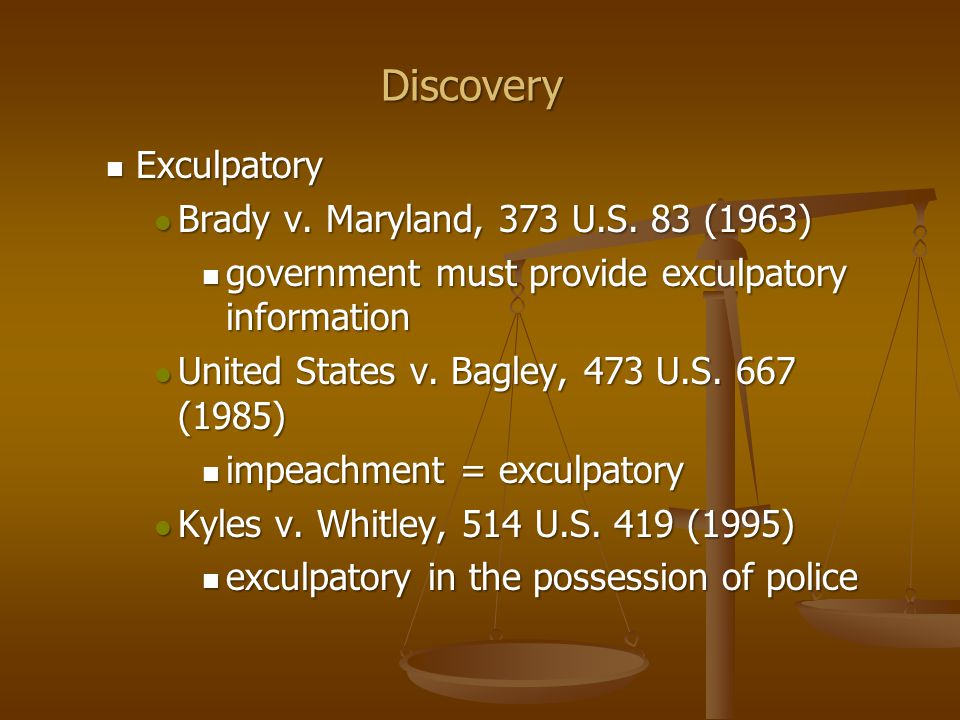 Destruction of evidence Destruction of evidence Trombetta v.