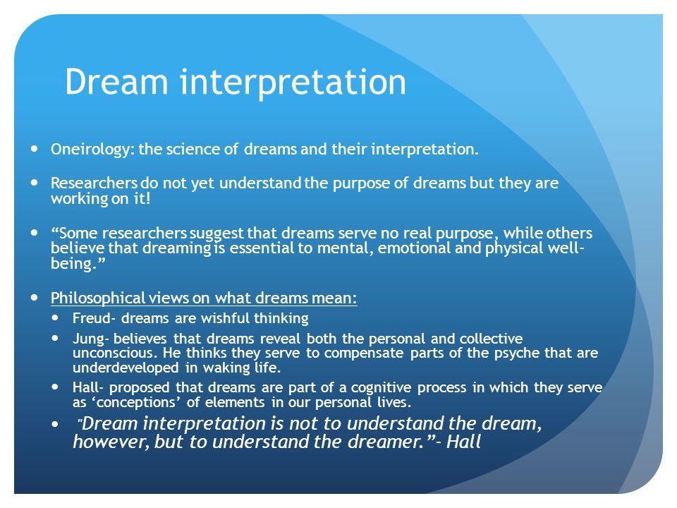 Interpret your Dream.