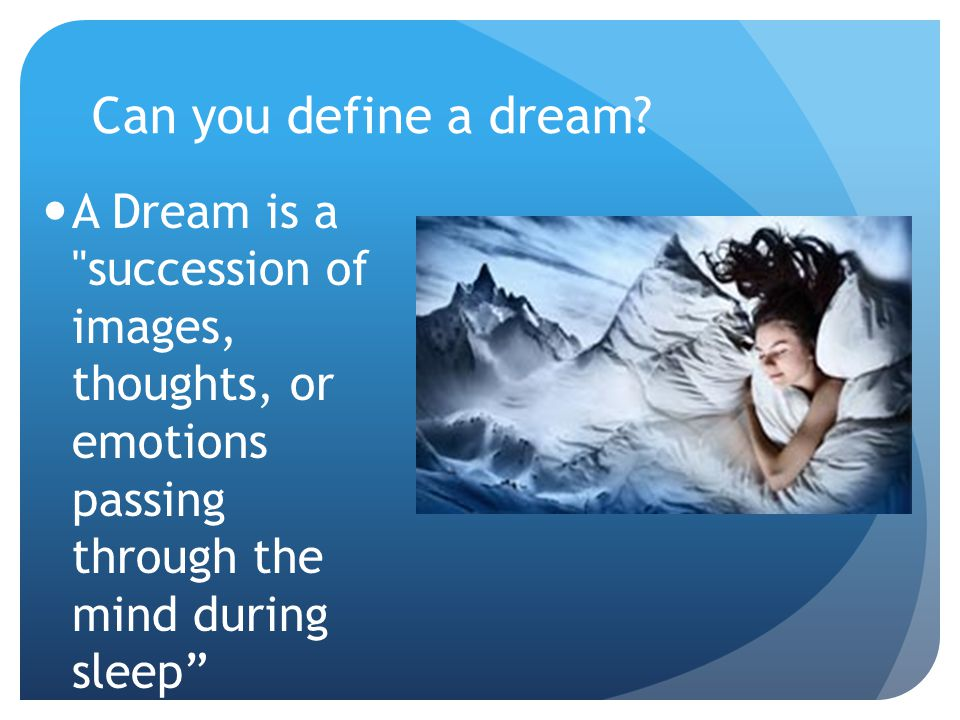 Define Lucid Dream Lucid dreaming means you have the ability to control your own dreams and steer them toward the direction you want.