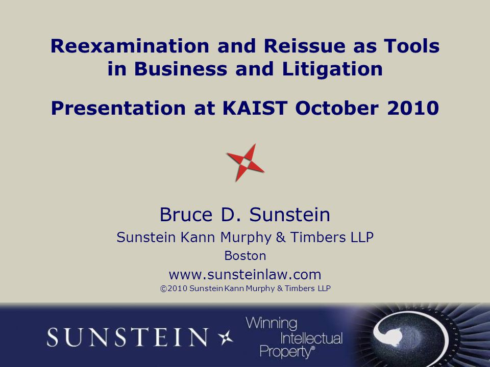Current US patent practice offers three tools for reevaluating issued patents Reissue Ex parte reexamination Inter partes reexamination 2
