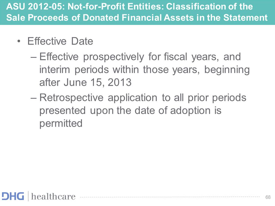 69 ASU 2013-04 Obligations Resulting from Joint and Several Liability Arrangements