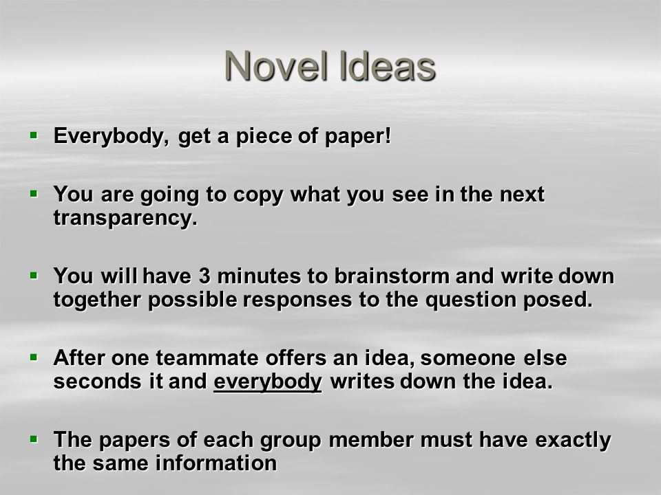 Novel Ideas - 2 We think the poem The Hardest Part of Love may be about:
