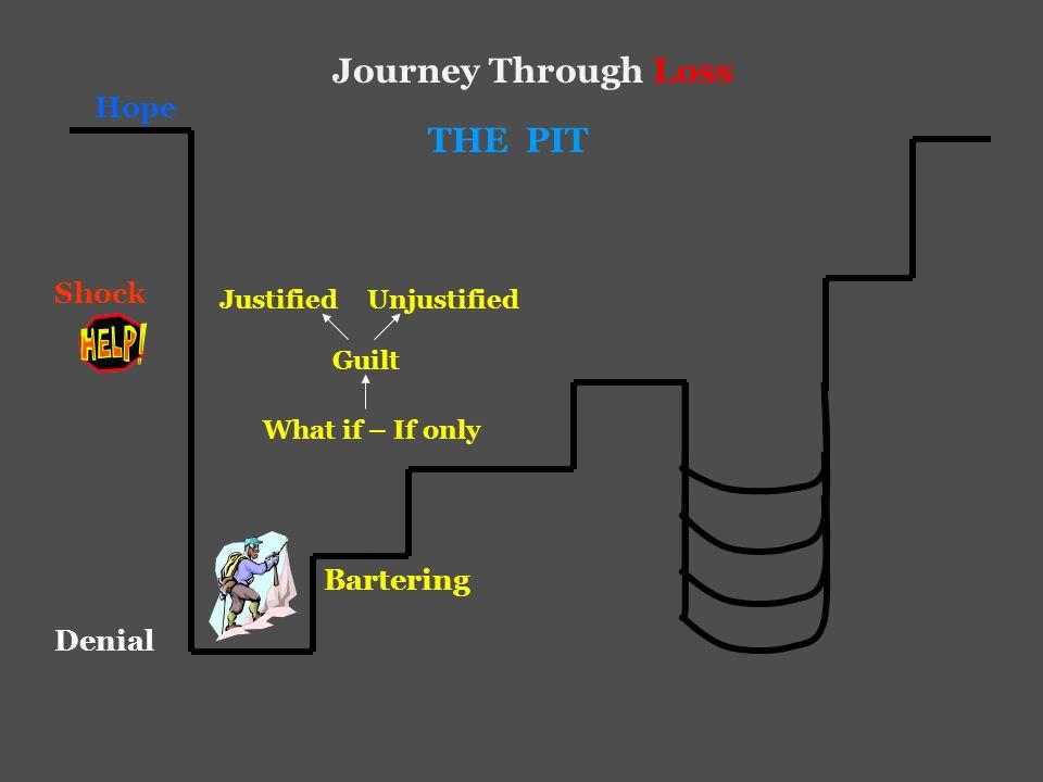 Hope Journey Through Loss Shock Denial THE PIT Bartering Anger