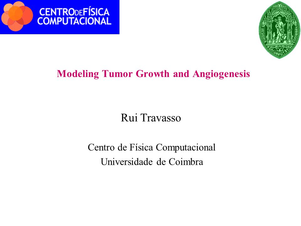 Cancer  Group of diseases presenting  Uncontrolled cell growth  Invasion (and metastasis)  Computer simulation in cancer: prognostic and control  Complex problem  Interaction between different cellular types  Processes at different scales  Microscopic: protein reaction networks, mutations  Macroscopic: cell diffusion  Focus: Solid tumors Khain et al, Phys.Rev.Lett.