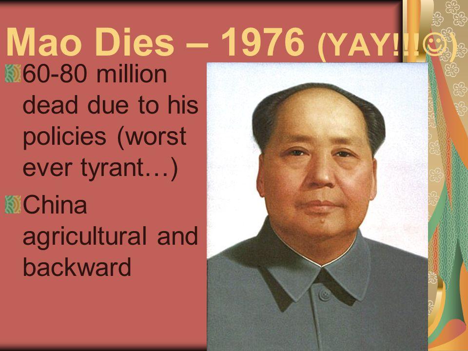How to critique an Absolutist Deng Xiaoping the new leader.