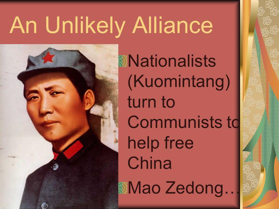 Death, & a Sharp Right Turn Sun died in '25, Chiang Kai-Shek the new leader.