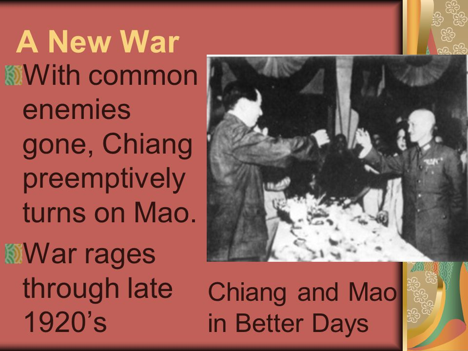 1933 – The Long March Cornered, Mao leads retreat for survival.