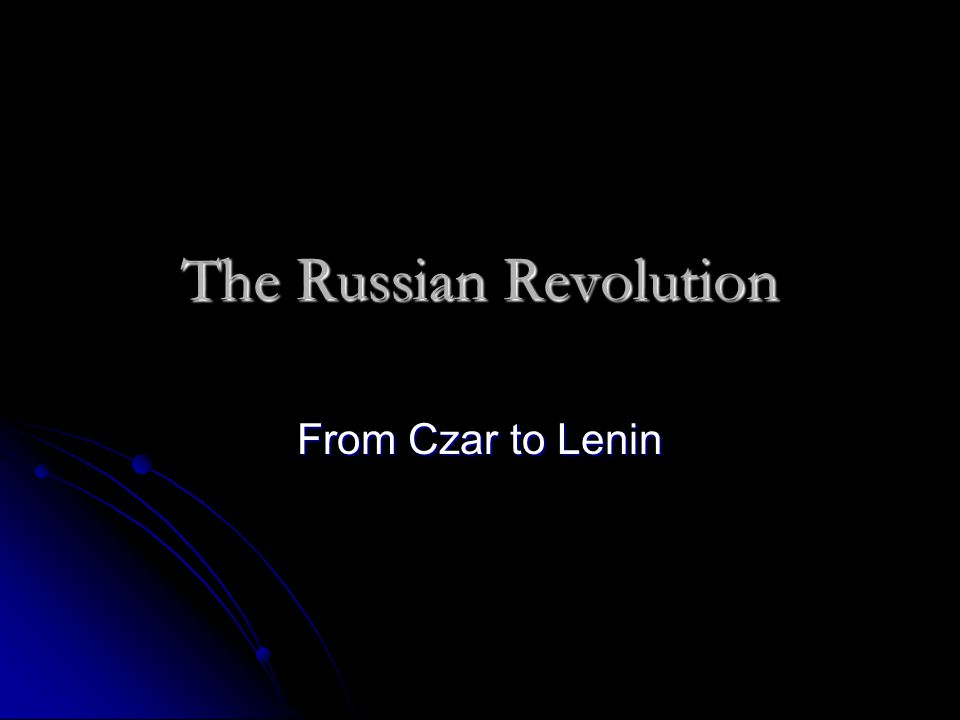 Causes of the Russian Revolution Czarist Rule Czarist Rule Peasant Unrest Peasant Unrest Problems with Urban Workers Problems with Urban Workers Diversity and Nationalism Diversity and Nationalism