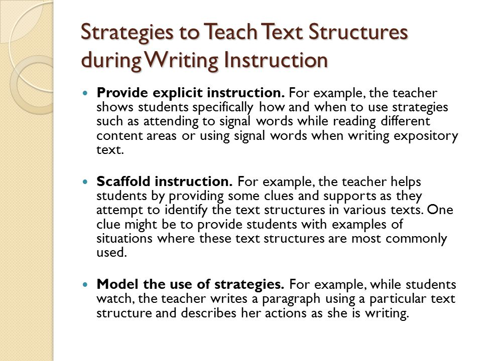 More Strategies Model a think-aloud strategy.