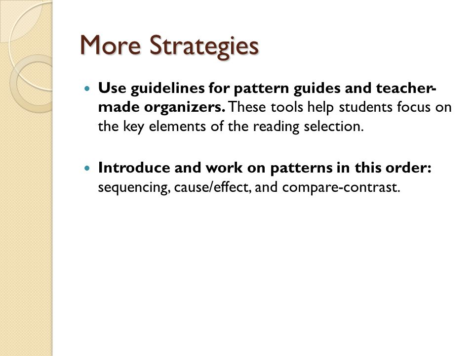 Resources http://www.lz95.org/msn/faculty/snoisey/Strategies/tex t_structures.htm http://www.lz95.org/msn/faculty/snoisey/Strategies/tex t_structures.htm http://www.literacymatters.org/lessons/textstructure.