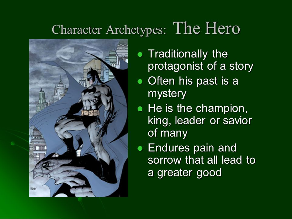 Character Archetypes: Mentor Serve as a teacher or counselor to the initiate or future hero Serve as a teacher or counselor to the initiate or future hero Role Model Role Model Sometimes a Father or Mother figure Sometimes a Father or Mother figure The Karate Kid's Mr.