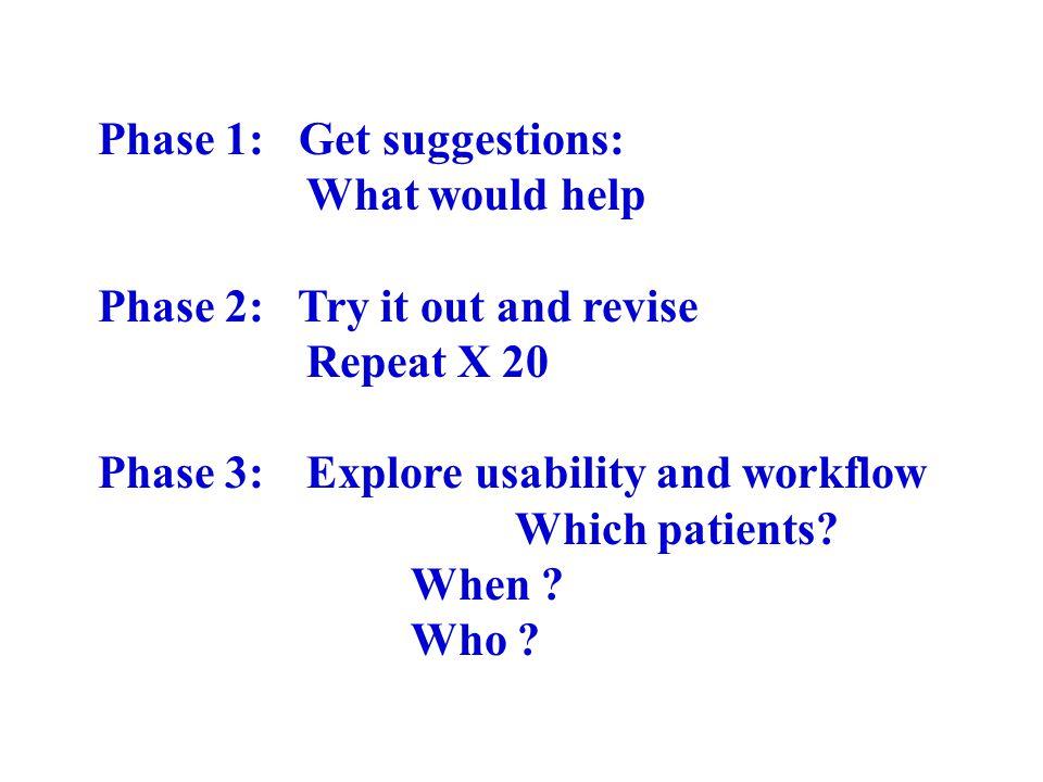 http://www.youtube.com/watch?v=uHpieuyP1w0 General checklist vs Specific checklist