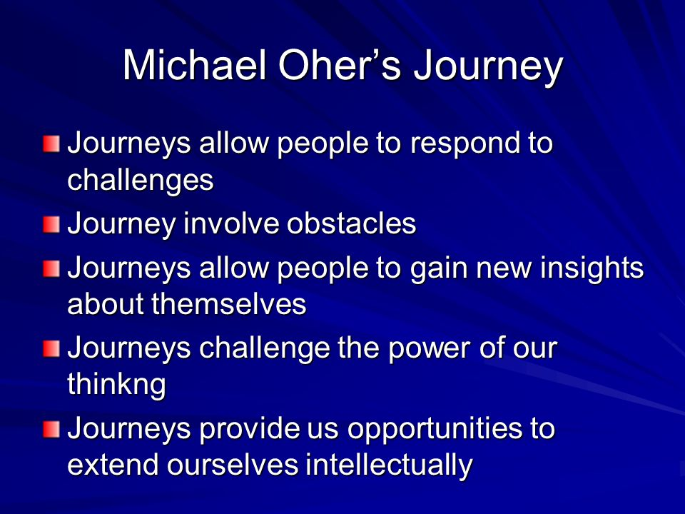 Response to Blind Side After Viewing the Blind Side Write 2 pages about the 'Journey of Michael Oher You will need to use the viewing sheets to complete your response